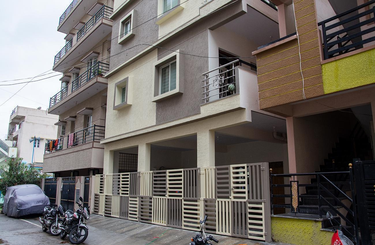 1 BHK Semi Furnished Flat for rent in Akshayanagar for ?10000, Bangalore