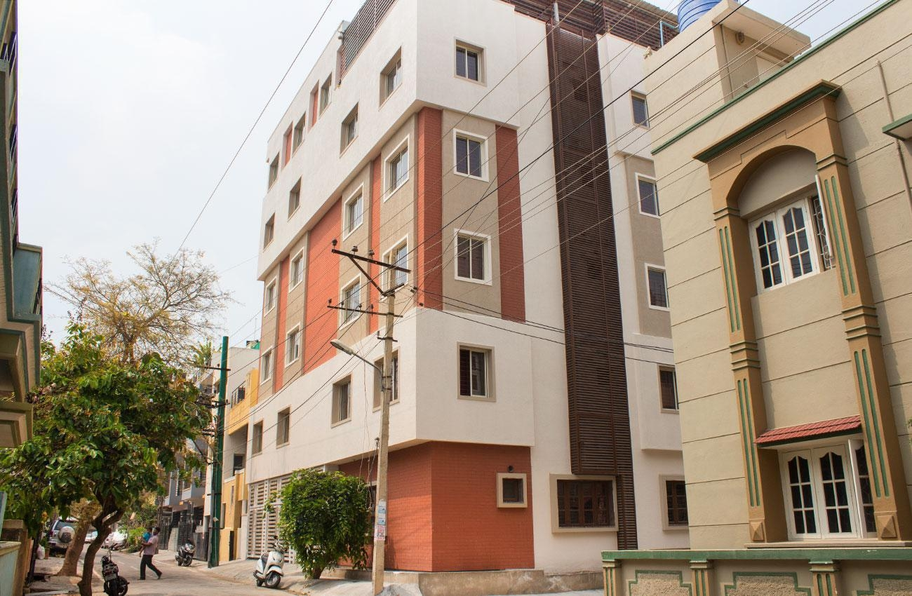 2 BHK Sharing Rooms for Women at ?6100 in Arekere, Bangalore