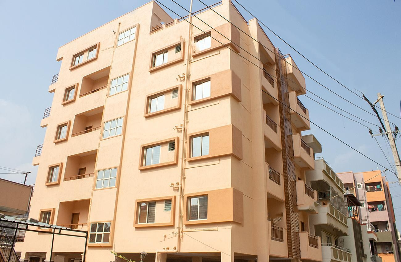 2 BHK Semi Furnished Flat for rent in Reliable Tranquil Layout for ?25000, Bangalore